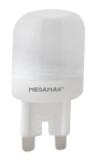 Ikona: AKCE LED žárovka Megaman LED capsule 3W/18W GU9 2800K 180lm Dim LU0303d